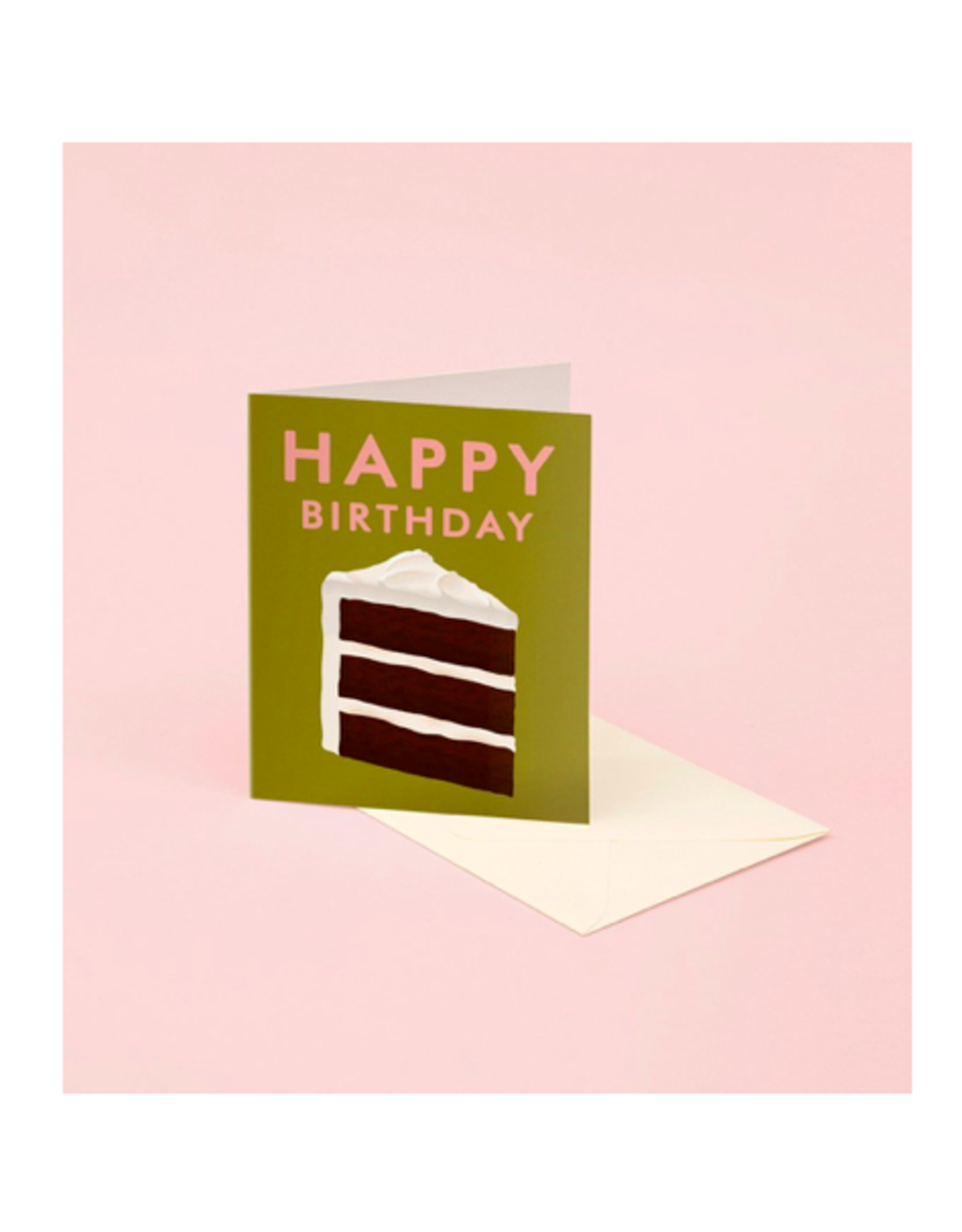 CAP - Card/Slice of Cake, Birthday