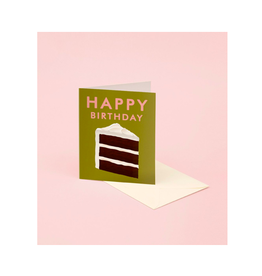 CAP - Card/Slice of Cake, Birthday, 4.25 x 5.5""