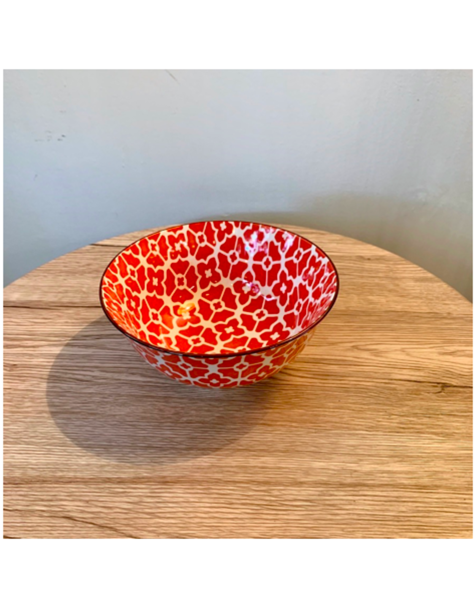 """ACE - Bowl / Red Flora, 6"""""""