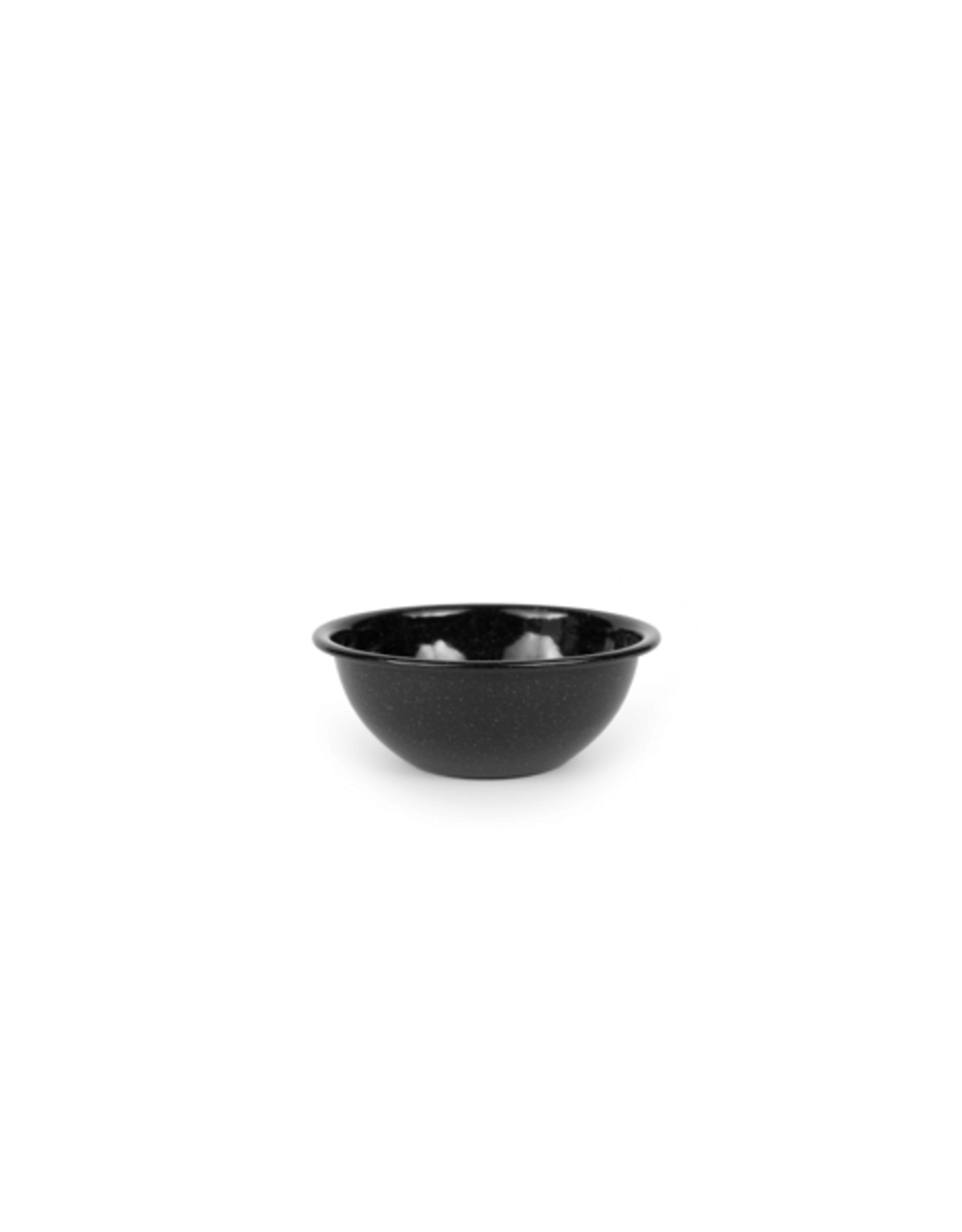 CON - Enamel Salad & Cereal Bowl/Black Speckled, 20OZ