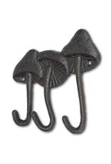 """ATT - Triple Wall Hook/Mushrooms 6"""""""