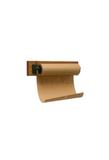COP - Paper Roll on Wood & Metal Wall Bracket