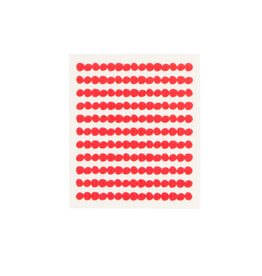 DCA - Swedish Sponge Cloth/Red Beads