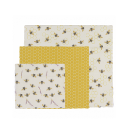 DCA - Beeswax Wrap / Set 3, Variety, Bee Hive