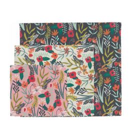 DCA - Beeswax Wrap / Set 3, Variety, Flowers