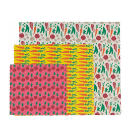 DCA - Beeswax Wrap/Set 3, Variety, Vegetables
