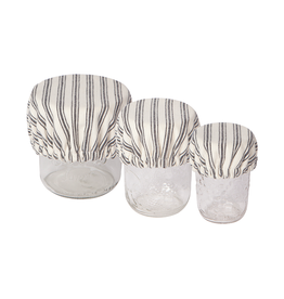 DCA - Bowl & Cup Cover/Set 3, Stripe