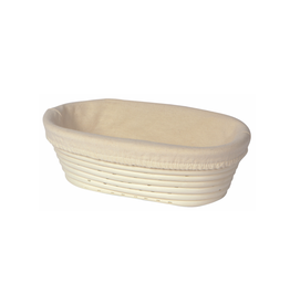 """DCA - Banneton Proofing Basket Liner / Oval, Neutral, 10"""""""