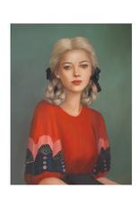 "Janet Hill - Art Print/Cricket 8.5 x 11"""
