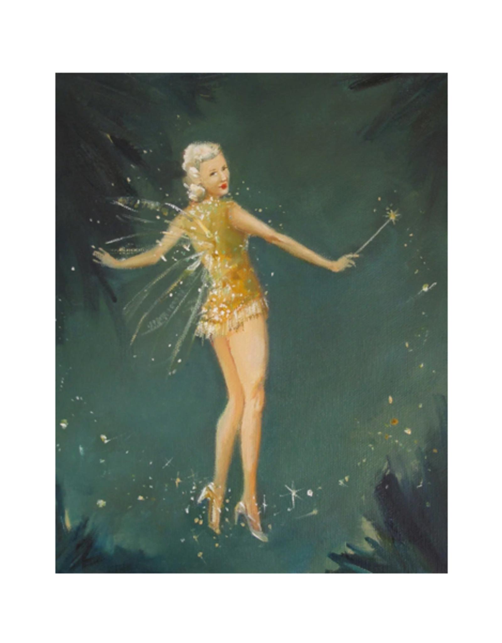"""Janet Hill - Art Print/Midsummer Fairy 8.5 x 11"""""""
