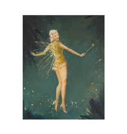 Janet Hill - Art Print/Midsummer Fairy 8.5 x 11""