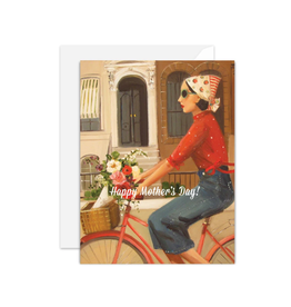 """Janet Hill - Card/Brownstones, Mother's Day 4.25 x 5.5"""""""