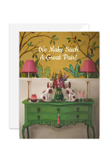 """Janet Hill - Card/We Make Such A Great Pair 4.25 x 5.5"""""""