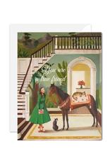 "Janet Hill - Card / You Are A True Friend, 4.25 x 5.5"""