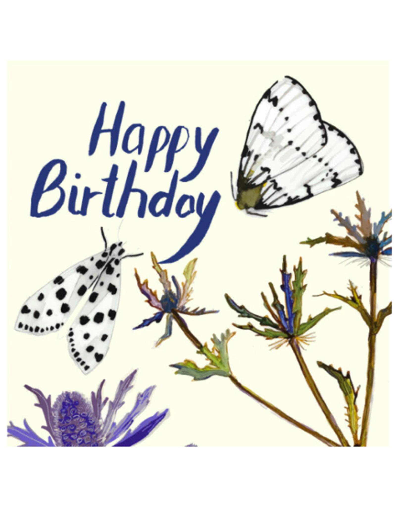 "Briana Corr Scott - Card/Moths, Happy Birthday, 4 x 6"""