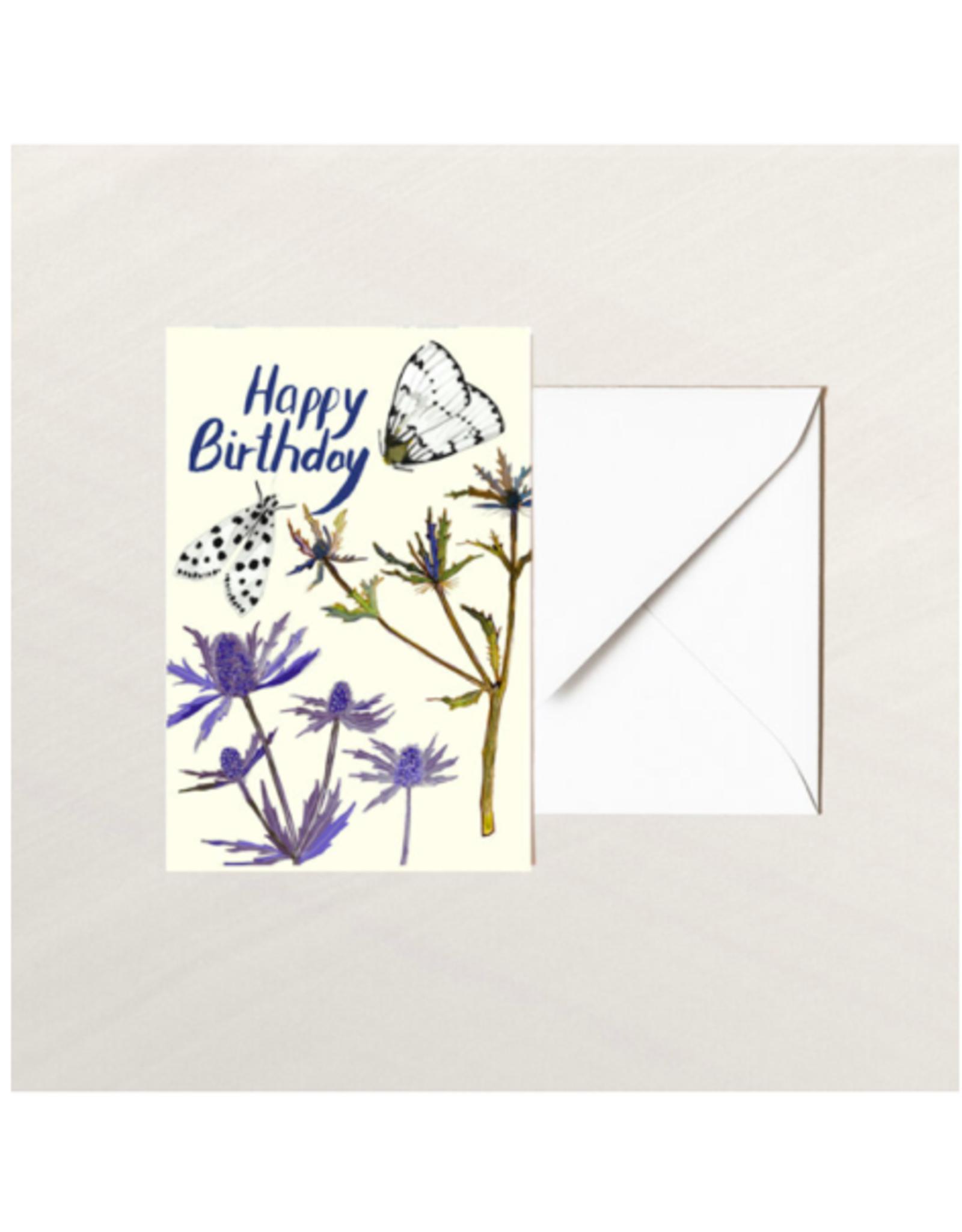 Briana Corr Scott - Card/Moths, Happy Birthday