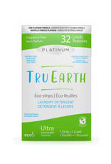 Tru Earth - Eco Laundry Detergent/32 Strips, Platinum, Unscented
