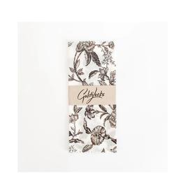 Goldilocks - Beeswax Wrap/Medium, Black Floral