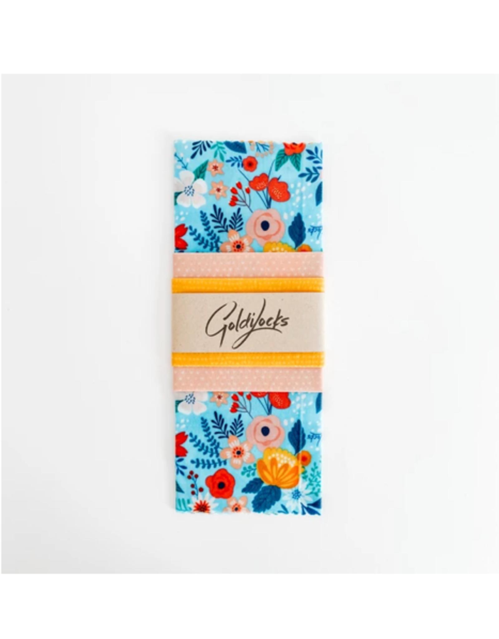Goldilocks - Beeswax Wrap/Set 3, Variety, Spring Floral