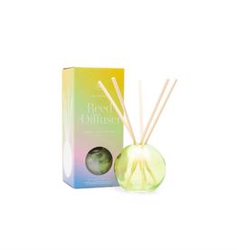 PAX - Diffuser Set/Green Tea & Melon, Green Bubble Glass 4oz