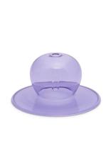 PAX - Incense Holder/Purple Bubble Glass