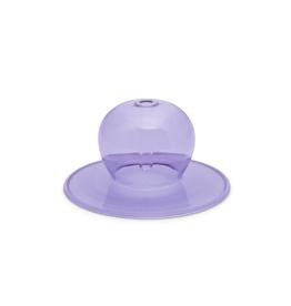 PAX - Incense Holder/Bubble Glass, Purple