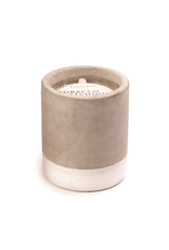 PAX - Soy Candle/Tobacco & Patchouli, White Concrete, 3.5oz