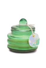 PAX - Soy Candle/Cactus Flower, Green Bubble Glass, 3oz