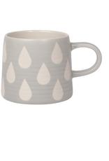 DCA - Mug/Matte Geo, Grey, 12oz