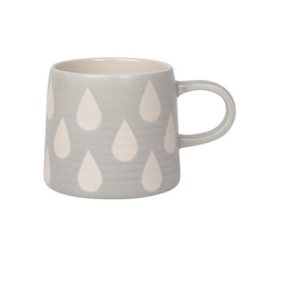 DCA - Mug/Matte Geo, Grey, 12oz