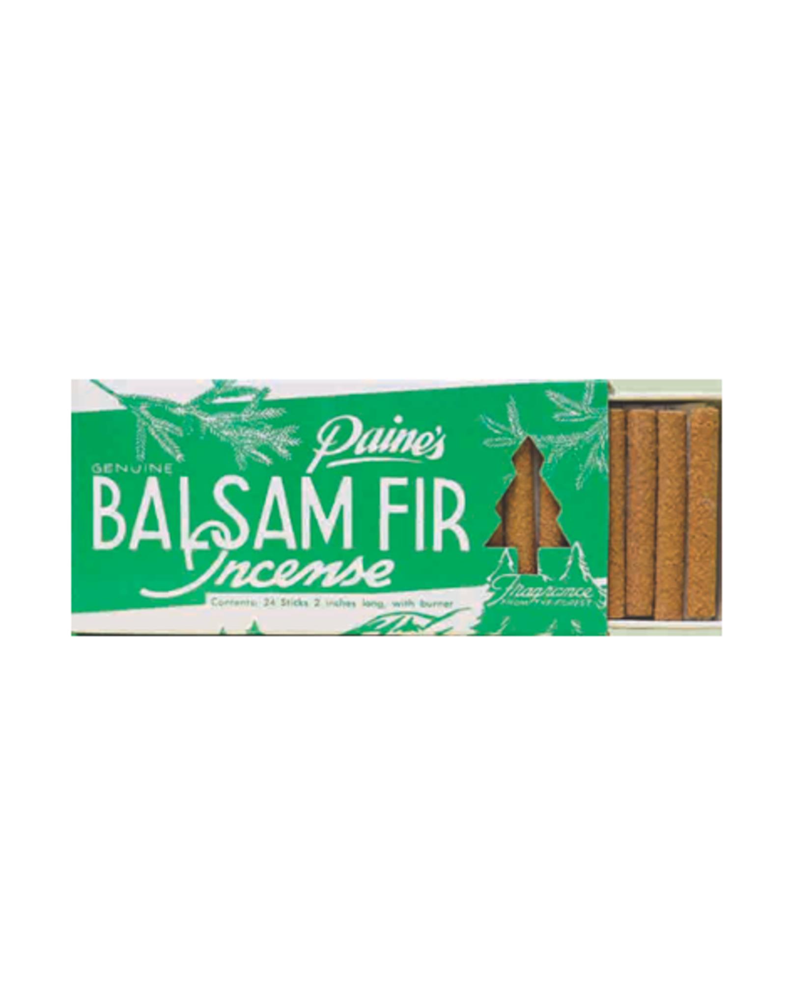 PNE - Incense Cones & Holder/24, Balsam Fir