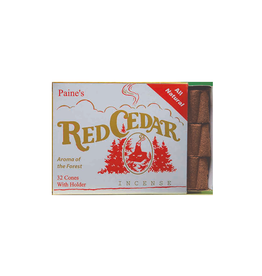 PNE - Incense Cones & Holder/32, Red Cedar