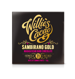 DLE - Willie's Cacao/Madagascan 71 Sambirano VEGAN Bar 50g