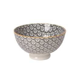 DCA - Bowl/Dots & Waves, 4""