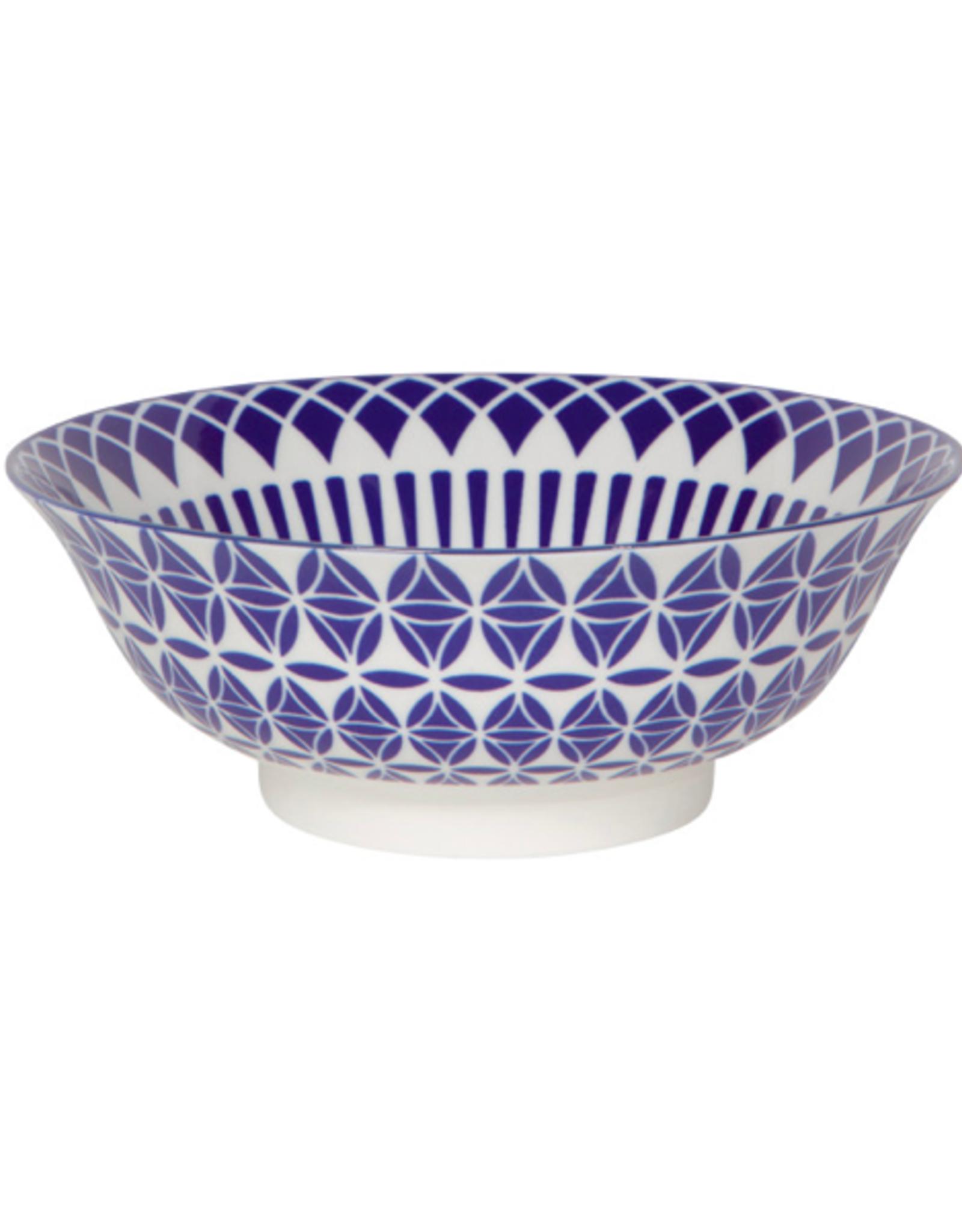 """DCA - Bowl / Blue & White, 8"""""""