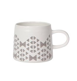 DCA - Mug/Matte Geo, White, 12oz