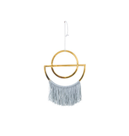 BLE - Wall Hanging/Brass with Fringe