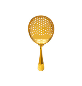 BLE - Strainer/Classic Julep, Gold, 6''