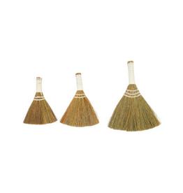COP - Whisk Broom/Set 3, White Handle