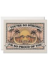 """RAP - Card/You're So Strong, 4.25 x 5.5"""""""