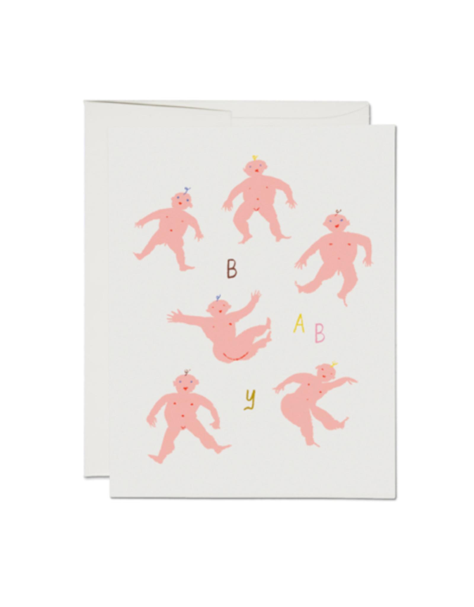 "RAP - Card / Baby, Little Humans, 4.25 x 5.5"""