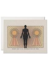 """RAP - Card/Celebration of You, 4.25 x 5.5"""""""