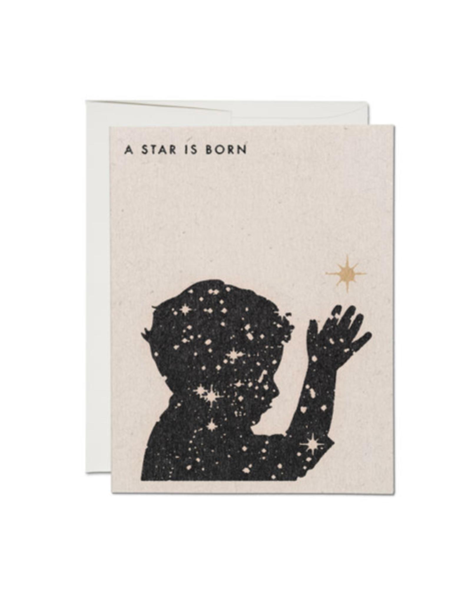 "RAP - Card Baby/A Star is Born, 4.25 x 5.5"""