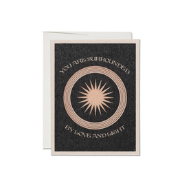 """RAP - Card / You are Surrounded by Love and Light, 4.25 x 5.5"""""""