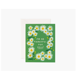 """Rifle Paper  - Card/Thankful For You, 4.25 x 5.5"""""""