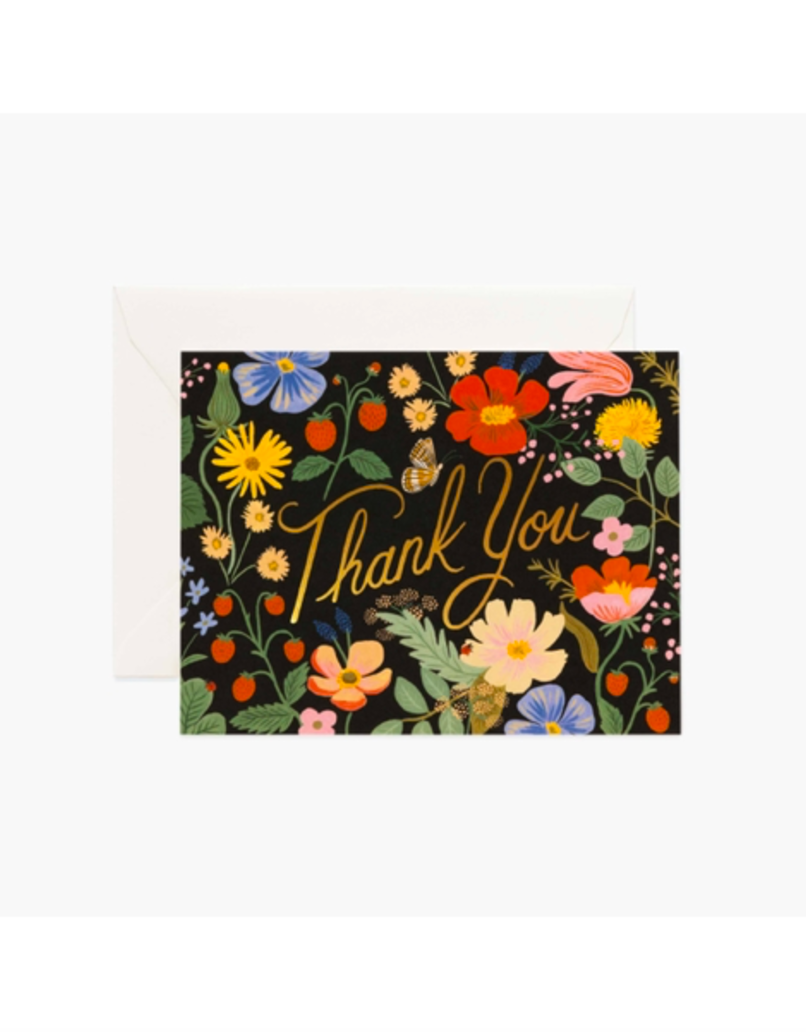 Rifle Paper - Card/Fields, Thank You, 4.25 x 5.5""