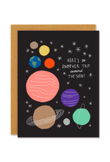 """BKE - Card / Here's to Another Trip Around the Sun, 4.25 x 5.5"""""""
