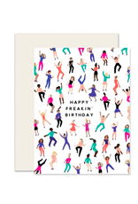 PPS - Card/Happy Freakin Birthday, 4.25 x 5.5""