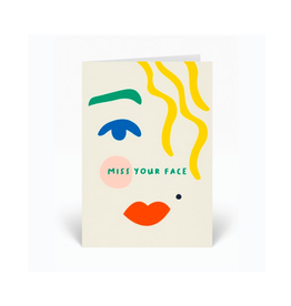 PPS - Card/Miss Your Face, 4 x 6""