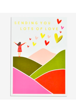 """PPS - Card/Lots of Love, 4.75 x 6.75"""""""